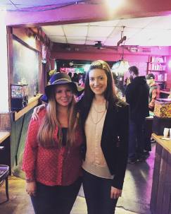 Ashley-Drake Estes and Haden Minifie at Sing Out! International's Benefit Concert on Wednesday, November 18th, 2015 in New Paltz, NY